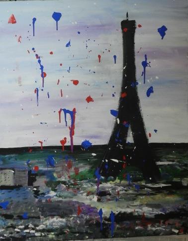 Paris Pleut.